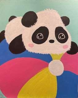 Beachball Panda