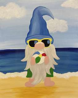 Beachin' Gnome