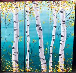 Birch Triptych