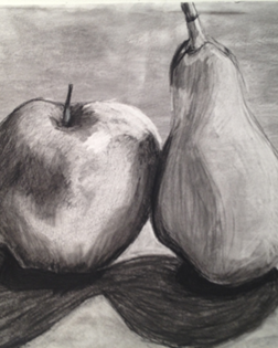 Beginner Drawing Class with Pencil & Charcoal
