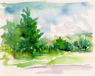 Beginner Watercolor Painting Class