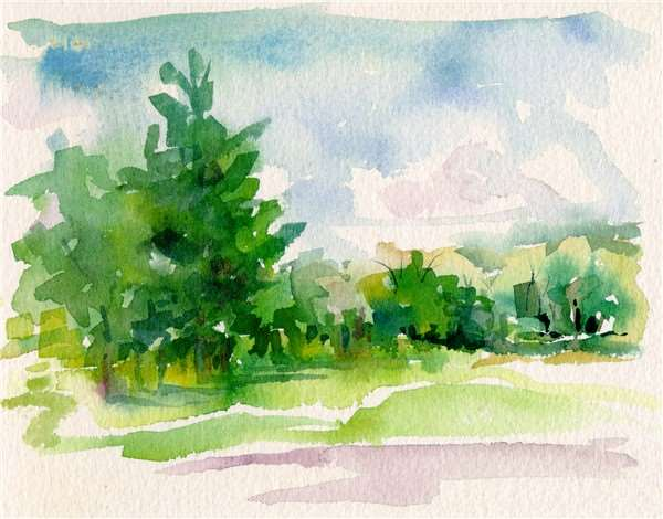 beginner watercolor painting class tue apr 02 6pm at exton