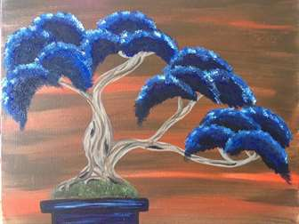 Berry Blue Bonsai