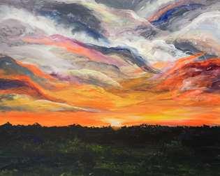 Best Sunset in Texas