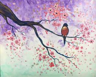 Bird in the Blossoms