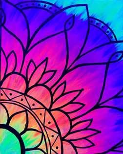 Black Light Mandala