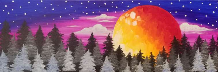 Blood Moon Forest