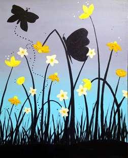 Blooming Butterflies