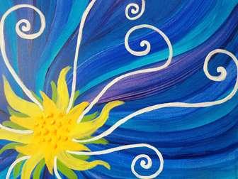 Blooming in Blue