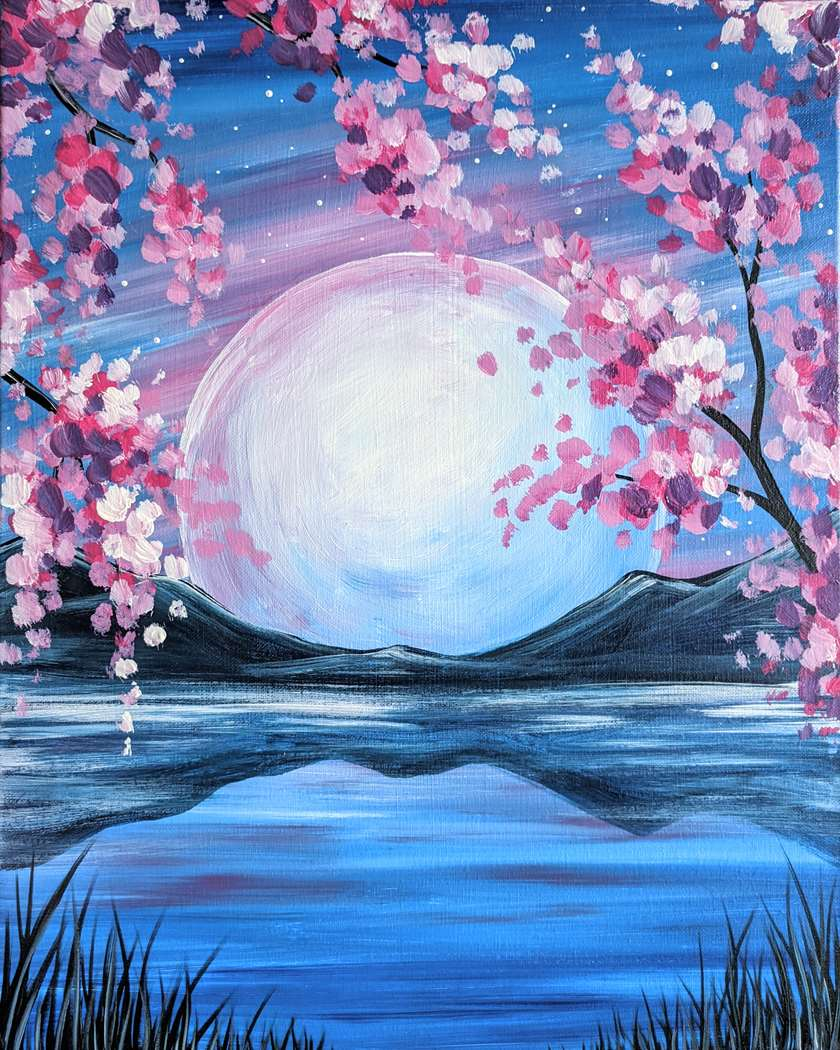 Blossom Moon River Virtual Class: Live or On Demand