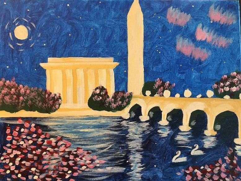 Blossom Romance in Washington