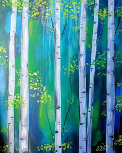 Blue Birch Woods