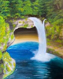 Blue Lagoon Falls