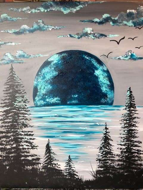 Blue Moon Rising