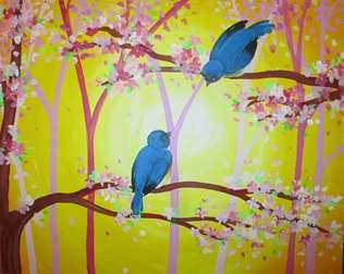 Bluebirds & Blossoms