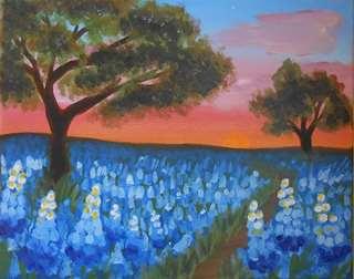 Bluebonnet Sunrise