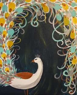 Bohemian Peacock