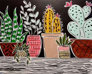 Boho Plant Garden