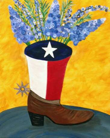 Bootscootin' Bluebonnets