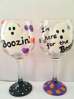 Boozin Glass Class