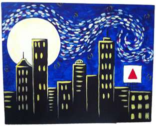 Boston Starry Night