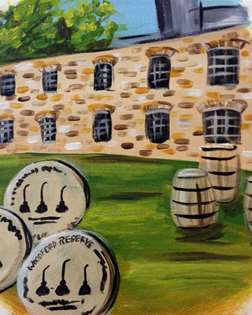 Bourbon Barrel Head - Woodford Distillery
