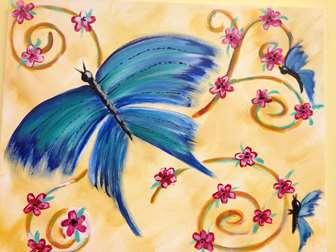 Breezy Butterflies