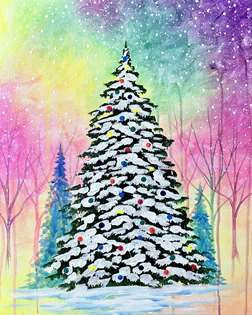 Bright Christmas Tree