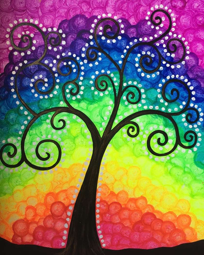 Family Painting Class! (Ages 6 & Up Welcome)