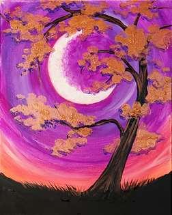 Copper Tree Moon