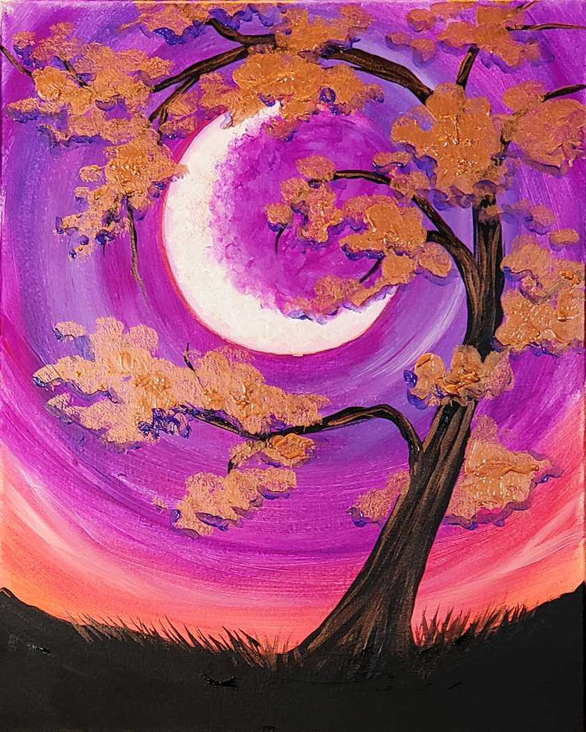 SAVE 20% BY BOOKING IN SEPT - Copper tree Moon - limited seating