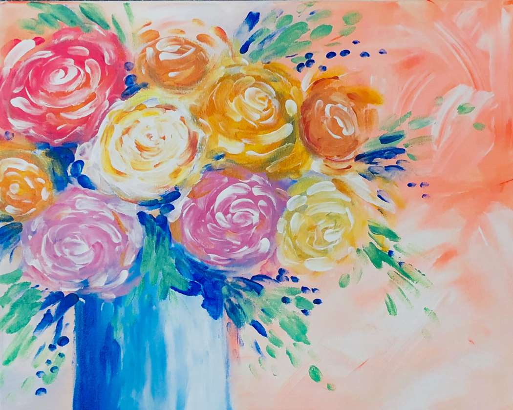 Finger Painting! LIVE INTERACTIVE VIRTUAL CLASS - PAINTING KIT INCLUDED