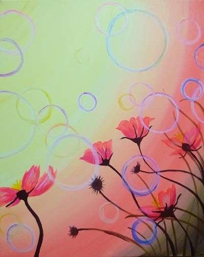 Bubbly Bubbly Flowers