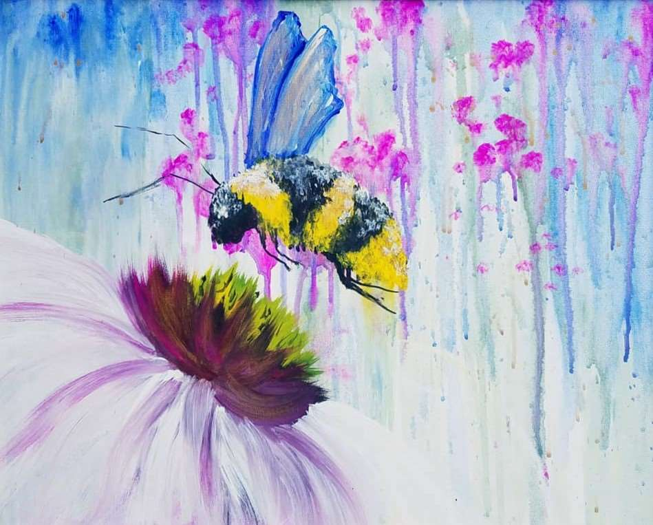 IN STUDIO CLASS: BUMBLE BEE UTOPIA - LIMITED SEATING