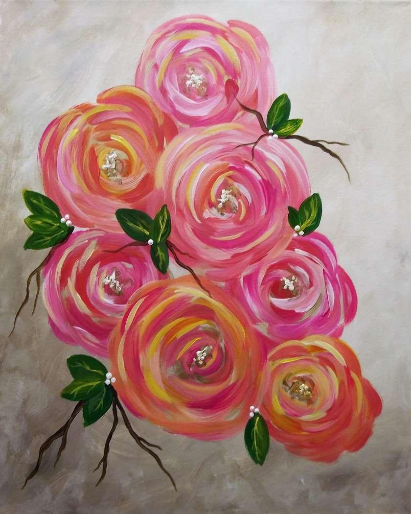 Winesday Wednesday!  Bushel of Blooms