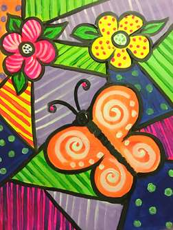 Butterfly on Quilt