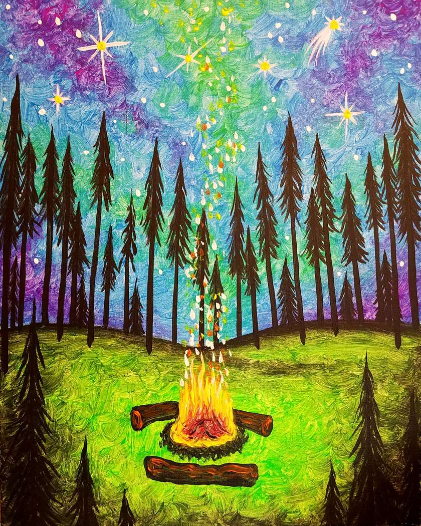By the Fire's Glow - In Studio - Back to Nature Summer Camp