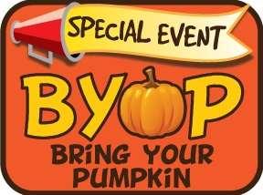 Paint Your Pumpkin Event!