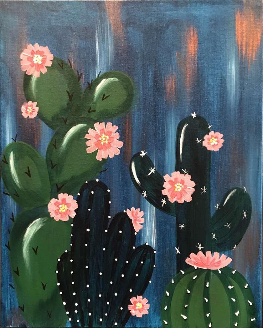 In Studio Event Mini Canvas $22