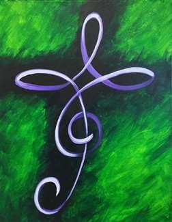Calligraphy Cross