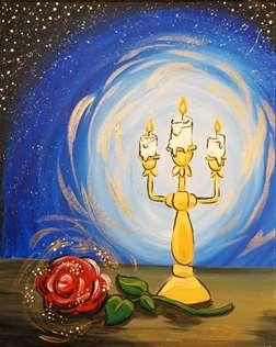 Candlelit Rose