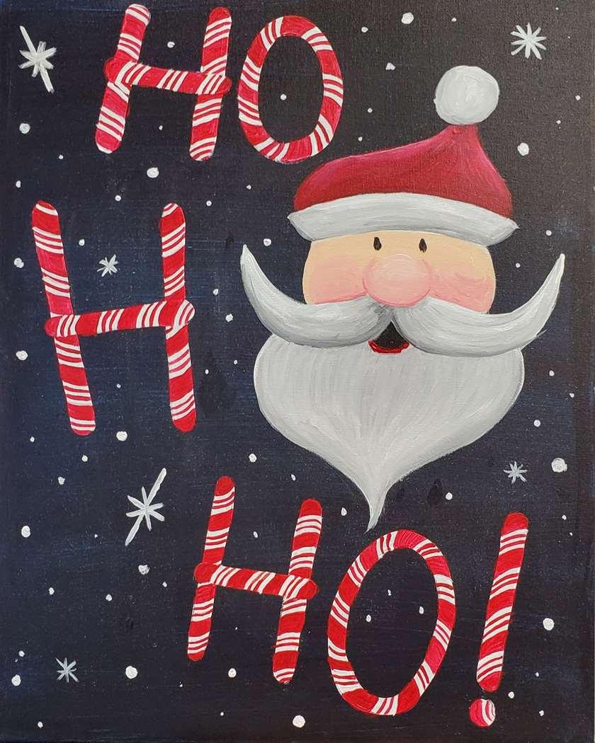 Candy Cane Santa