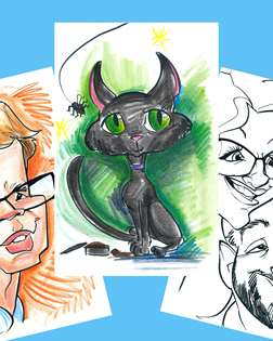 Caricature Self Portrait