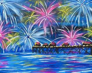 Celebration at the Pier