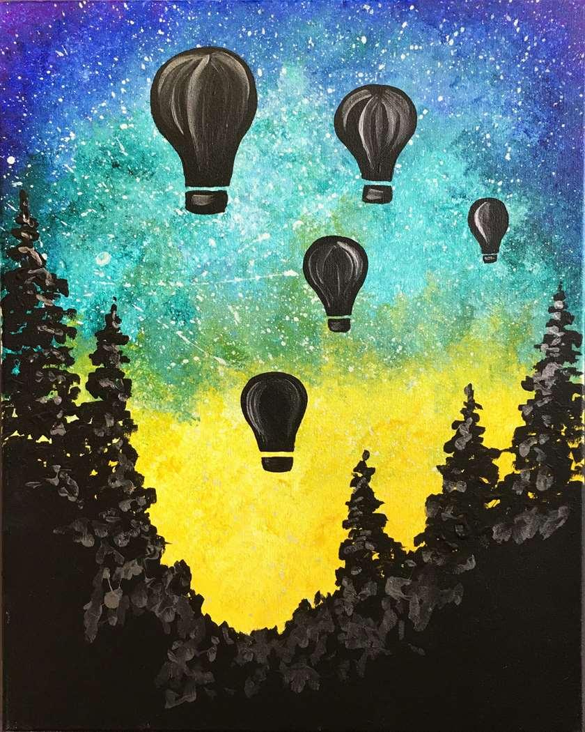 In-Studio Wednesday Wonder Series - $27 Special- Celestial Balloon Ride