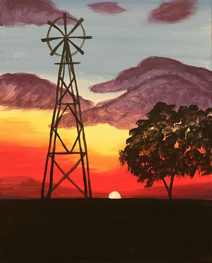 Central Cali Sunset
