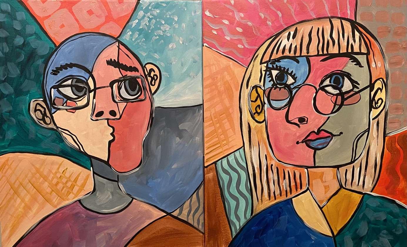 Cubist Portrait
