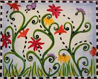 Checkered Flora