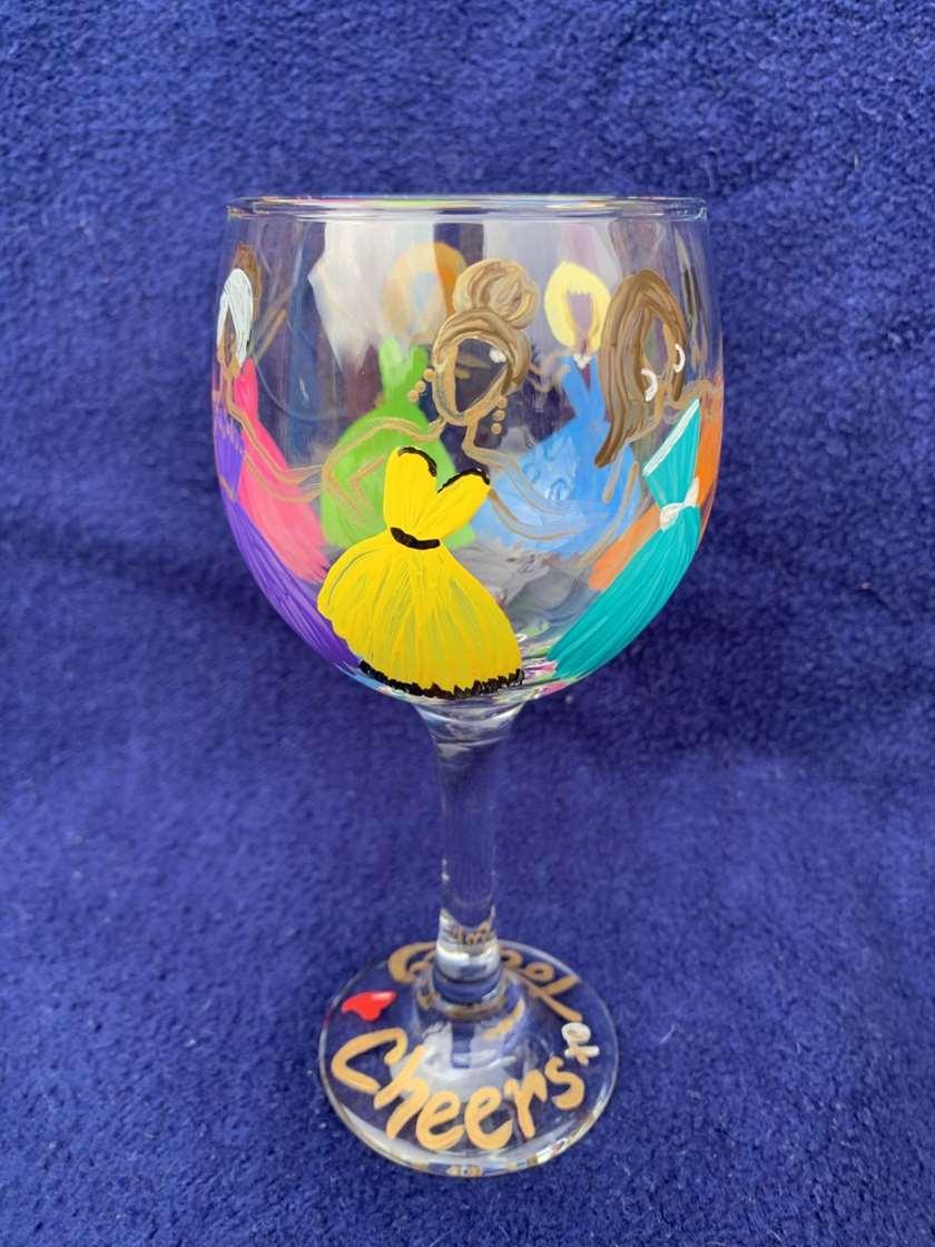2 Wine Glasses!