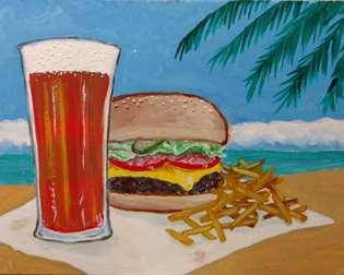 Cheeseburger Paradise!